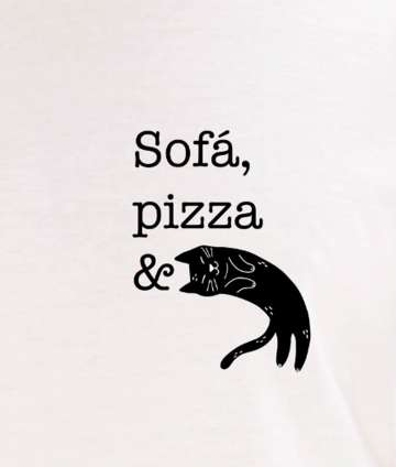 Sofá, Pizza & Gates